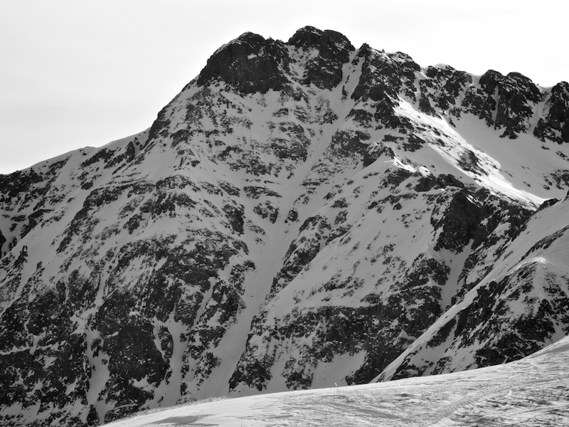 Starving for the Gnar Couloir @ Silverton, CO – 01/12/12